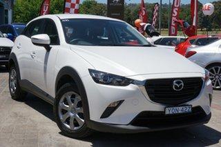 2020 Mazda CX-3 DK2W7A Neo SKYACTIV-Drive FWD Sport White 6 Speed Sports Automatic Wagon.