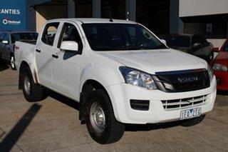2015 Isuzu D-MAX TF MY15 SX (4x4) White 5 Speed Automatic Crew Cab Utility.
