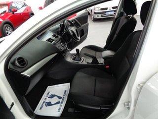 2012 Mazda 3 BL10F2 MY13 Neo White 6 Speed Manual Sedan