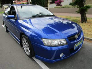 2005 Holden Commodore VZ SV6 Blue 5 Speed Auto Active Select Sedan.