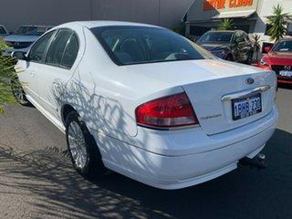 2002 Ford Fairmont BA White 4 Speed Automatic Sedan.
