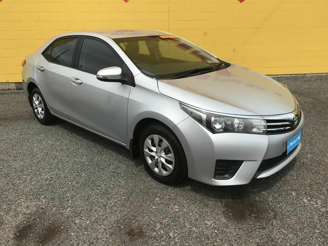 Used Toyota Corolla ZRE172R Ascent S-CVT Winnellie, 2015 Toyota Corolla ZRE172R Ascent S-CVT Silver 7 Speed Constant Variable Sedan