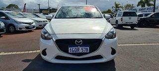 2018 Mazda 2 DL2SAA Neo SKYACTIV-Drive White 6 Speed Sports Automatic Sedan.