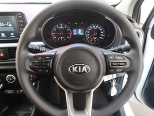 2019 Kia Picanto JA MY19 S White 4 Speed Automatic Hatchback