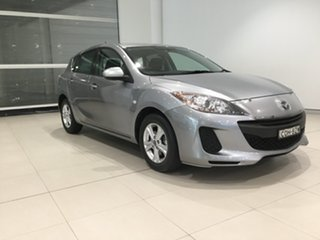 2013 Mazda 3 BL10F2 MY13 Neo Silver 6 Speed Manual Hatchback.