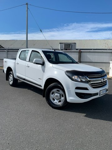 Used Holden Colorado RG MY17 LS Pickup Crew Cab Moonah, 2017 Holden Colorado RG MY17 LS Pickup Crew Cab White 6 Speed Sports Automatic Utility