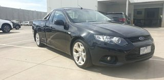 2012 Ford Falcon FG MkII XR6 Ute Super Cab Black 6 Speed Sports Automatic Utility.