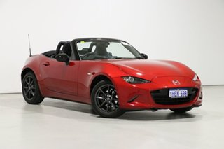 2016 Mazda MX-5 K GT Red 6 Speed Automatic Roadster.