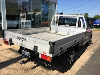 2017 Toyota Hilux TGN121R Workmate Silver 5 Speed Manual Cab Chassis