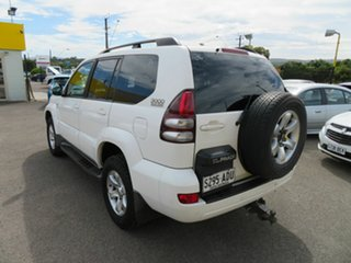 2009 Toyota Landcruiser Prado KDJ120R 07 Upgrade GXL (4x4) White 5 Speed Automatic Wagon