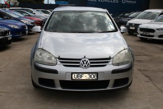2005 Volkswagen Golf 1K 1.9 TDI Trendline Silver 6 Speed Manual Hatchback.