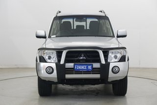 2014 Mitsubishi Pajero NW MY14 GLX-R Cool Silver 5 Speed Sports Automatic Wagon.
