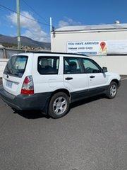 2006 Subaru Forester 79V MY07 X AWD White 4 Speed Automatic Wagon