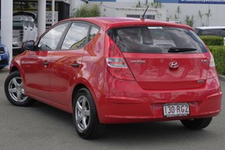 2009 Hyundai i30 FD MY09 SX Shine Red 5 Speed Manual Hatchback.