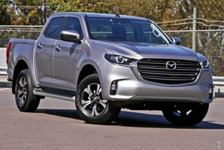 2020 Mazda BT-50 TFS40J XTR Silver 6 Speed Sports Automatic Utility.