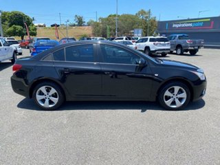 2013 Holden Cruze JH Series II MY13 CD Black 5 Speed Manual Sedan.