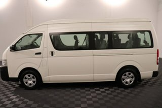 2007 Toyota HiAce TRH223R Commuter High Roof Super LWB White 4 speed Automatic Bus