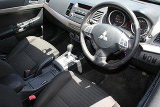 2012 Mitsubishi Lancer CJ MY12 ES Sportback Black 6 Speed CVT Auto Sequential Hatchback