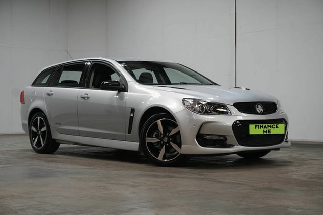 Used Holden Commodore VF II MY16 SS Sportwagon Black Welshpool, 2016 Holden Commodore VF II MY16 SS Sportwagon Black Silver 6 Speed Sports Automatic Wagon