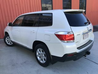2012 Toyota Kluger GSU40R MY12 KX-R 2WD White 5 Speed Sports Automatic Wagon.