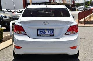2019 Hyundai Accent RB6 MY19 Sport White 6 Speed Sports Automatic Sedan