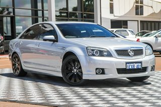 2010 Holden Caprice WM MY10 Silver 6 Speed Sports Automatic Sedan.