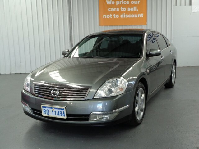 Used Nissan Maxima J31 MY06 ST-L Rockingham, 2006 Nissan Maxima J31 MY06 ST-L Grey 6 Speed Constant Variable Sedan
