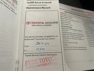 2005 Toyota Yaris NCP91R YRS Blue 4 Speed Automatic Hatchback