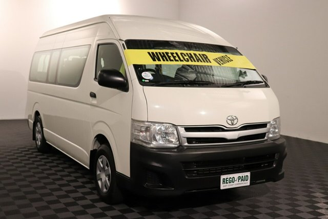 Used Toyota HiAce TRH223R MY11 Commuter High Roof Super LWB Acacia Ridge, 2011 Toyota HiAce TRH223R MY11 Commuter High Roof Super LWB French Vanilla 4 speed Automatic Bus