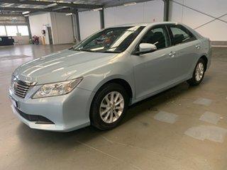 2014 Toyota Aurion GSV50R AT-X Blue 6 Speed Sports Automatic Sedan