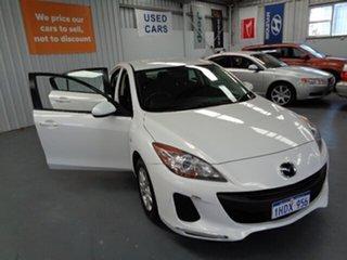 2012 Mazda 3 BL10F2 MY13 Neo White 6 Speed Manual Sedan.