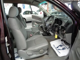 2005 Toyota Hilux KUN26R MY05 SR5 Xtra Cab Maroon 5 Speed Manual Utility