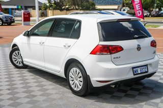 2015 Volkswagen Golf VII MY15 90TSI DSG Pure White 7 Speed Sports Automatic Dual Clutch Hatchback.