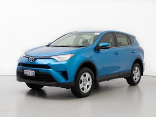 2017 Toyota RAV4 ZSA42R MY17 GX (2WD) Blue Continuous Variable Wagon.