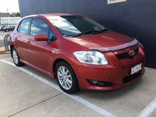 2008 Toyota Corolla ZRE152R Levin ZR Red 6 Speed Manual Hatchback.