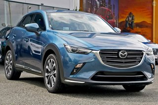 2020 Mazda CX-3 DK2W7A Akari SKYACTIV-Drive FWD Blue 6 Speed Sports Automatic Wagon.