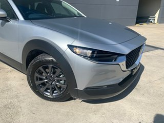 2020 Mazda CX-30 DM2W7A G20 SKYACTIV-Drive Pure Sonic Silver 6 Speed Sports Automatic Wagon.