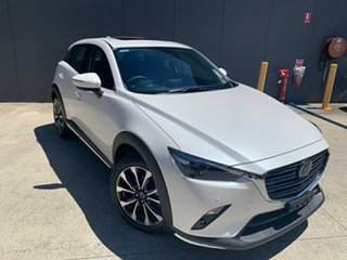 2020 Mazda CX-3 DK2W7A Akari SKYACTIV-Drive FWD Snowflake White 6 Speed Sports Automatic Wagon.