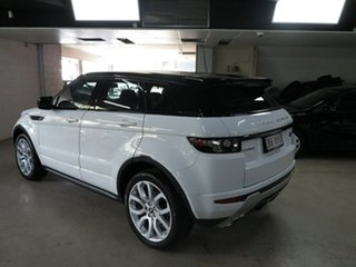 2013 Land Rover Range Rover Evoque L538 MY13 SD4 CommandShift Dynamic White 6 Speed Sports Automatic