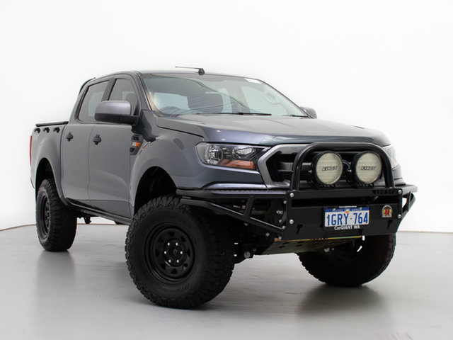 Used Ford Ranger PX MkII XLS 3.2 (4x4), 2015 Ford Ranger PX MkII XLS 3.2 (4x4) Grey 6 Speed Automatic Double Cab Pick Up