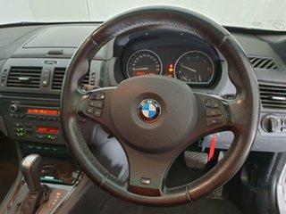 2008 BMW X3 E83 MY09 xDrive20d Steptronic Lifestyle Silver 6 Speed Automatic Wagon