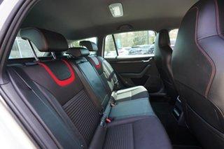 2015 Skoda Octavia NE MY15.5 RS DSG 162TSI White 6 Speed Sports Automatic Dual Clutch Wagon