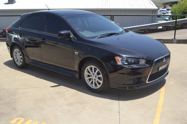 Used Mitsubishi Lancer CJ MY12 Activ Sportback Maitland, 2012 Mitsubishi Lancer CJ MY12 Activ Sportback Black 6 Speed Constant Variable Hatchback