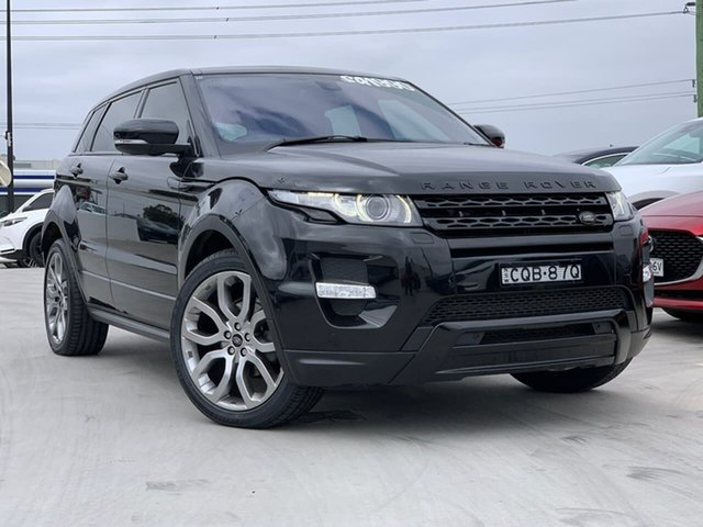 Used Land Rover Range Rover Evoque L538 MY13 SD4 CommandShift Dynamic Liverpool, 2013 Land Rover Range Rover Evoque L538 MY13 SD4 CommandShift Dynamic Black 6 Speed Sports Automatic
