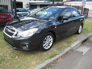 2012 Subaru Impreza MY12 2.0I-L (AWD) Grey Continuous Variable Sedan.