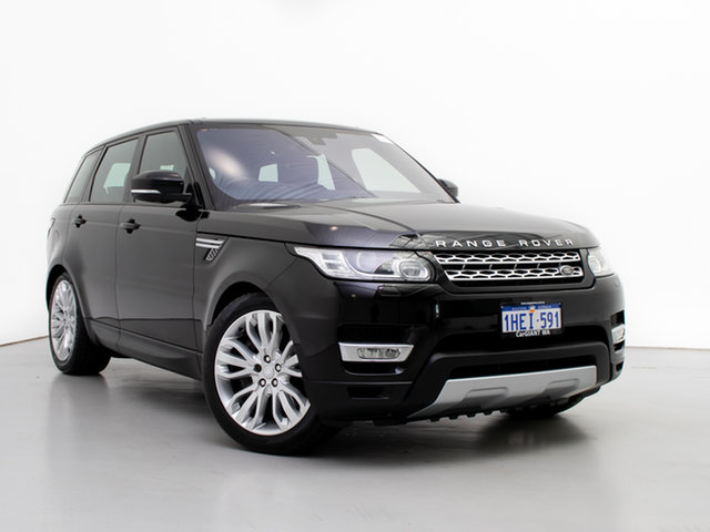 Used Land Rover Range Rover LW MY16.5 Sport 3.0 SDV6 HSE, 2016 Land Rover Range Rover LW MY16.5 Sport 3.0 SDV6 HSE Santorini Black 8 Speed Automatic Wagon