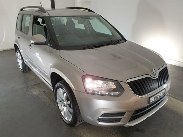 Used Skoda Yeti 5L MY14 77TSI DSG Active Maryville, 2014 Skoda Yeti 5L MY14 77TSI DSG Active Beige 7 Speed Sports Automatic Dual Clutch Wagon