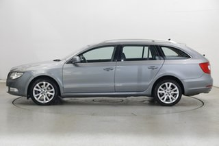 2013 Skoda Superb 3T MY13 Ambition DSG 103TDI Grey 6 Speed Sports Automatic Dual Clutch Wagon.