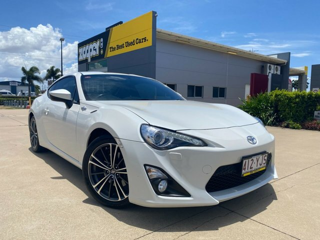 Used Toyota 86 ZN6 GTS Townsville, 2014 Toyota 86 ZN6 GTS White 6 Speed Manual Coupe