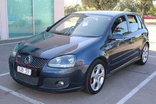 2008 Volkswagen Golf 1K MY08 Upgrade GTi Blue 6 Speed Direct Shift Hatchback.